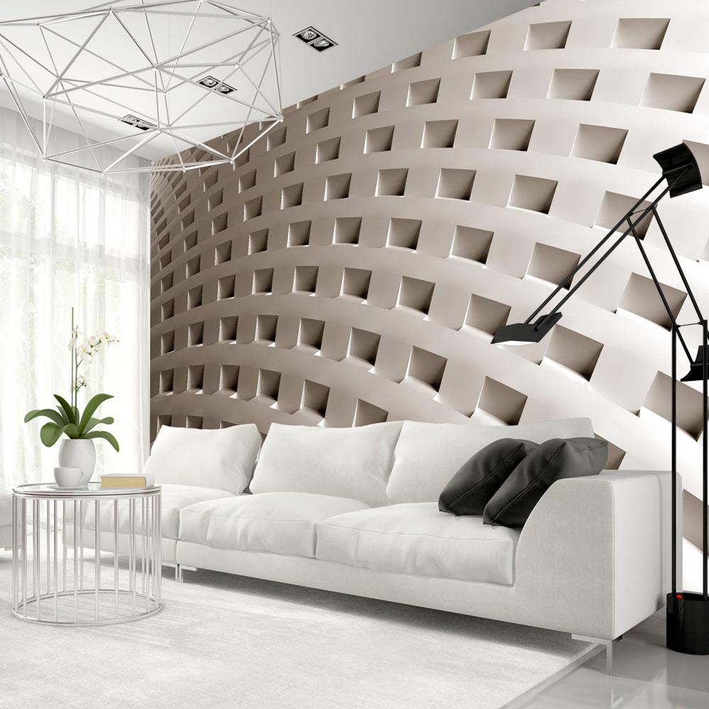 Fototapeet the construction of modernity for Carta da parati design 3d